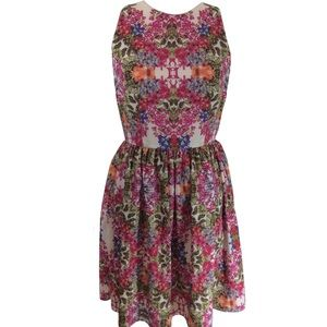 Maggy London Floral Spring Dress